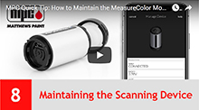 Maintaining the Scanning Device