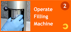 Operate Filling Machine