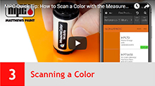 Scanning a Color